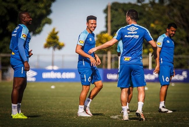 Com Marquinhos Gabriel entre os relacionados, Cruzeiro enfrenta Boa, em Varginha