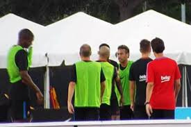 Neymar briga com companheiro de time e abandona treino do Barcelona nos Estados Unidos