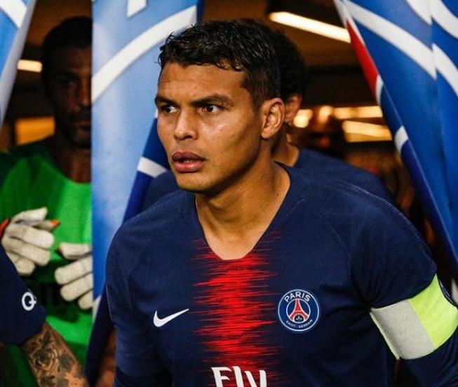 Thiago Silva supera Neymar e é eleito o melhor estrangeiro do Francês