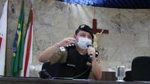Major Alexsandro aborda Segurança Pública na Câmara