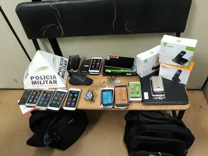 Polícia Militar prende autores de roubo