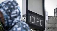 Frente fria em Minas deve durar 5 dias e temperatura despenca