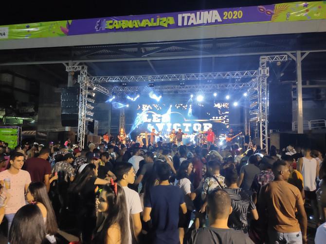 Carnaval de Itaúna é sucesso de público com foliões de várias cidades do Estado