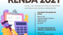 Declaração do Imposto de Renda pode ajudar dois conselhos municipais em Itaúna