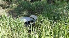 Carro capota na BR-352, em Pará de Minas, e uma pessoa morre