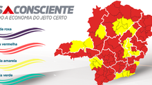 Macrorregião Norte regride e Estado têm 11 das 14 regiões na onda vermelha do Minas Consciente