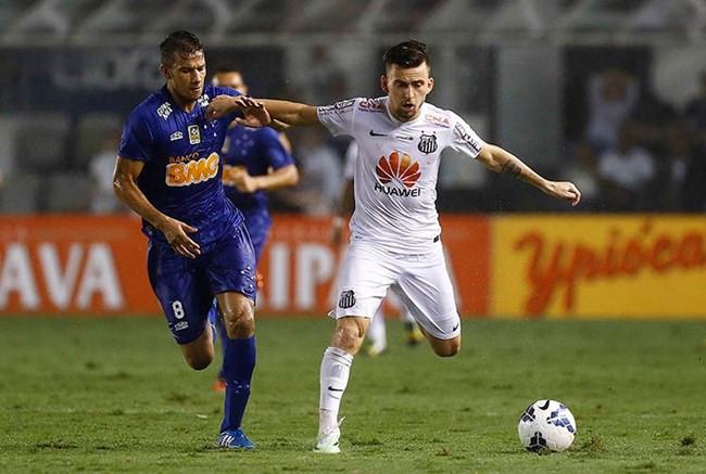 Contra Santos, Cruzeiro pode ter em campo seis atletas do time que eliminou o Peixe em 2014
