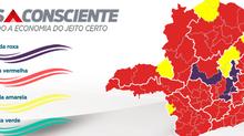 Macrorregiões Centro, Centro-Sul, Leste, Leste do Sul, Oeste e Vale do Aço avançampara onda vermelha