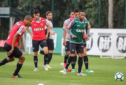 Atlético recebe o Botafogo pelas quartas da Copa do Brasil com Gabriel de volta e Luan de titular