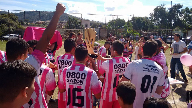 Rosa Futebol Clube conquista o título da Copa Olarião em 2017
