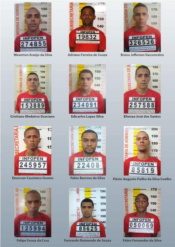 SEAP confirma nova fuga de presos na Nelson Hungria em Contagem e divulga lista de fugitivos