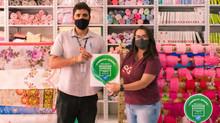 Comércio Seguro: Campanha no comércio de Itaúna reforça apoio na prevenção ao Coronavírus