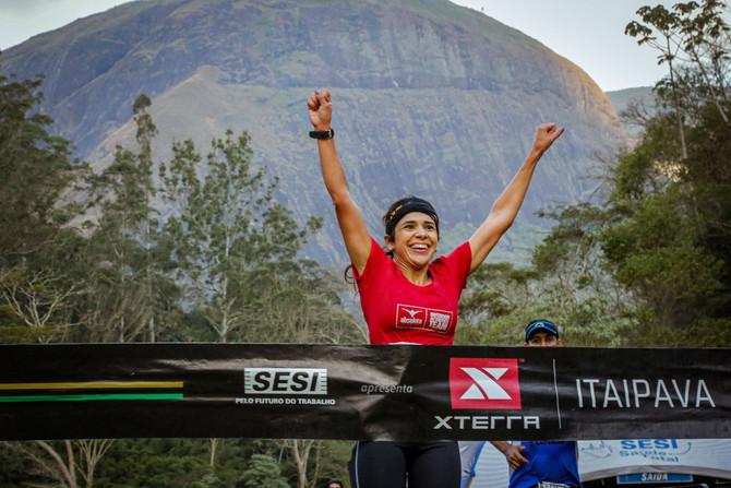 Atleta Itaunense é a grande campeã do   XTerra Itaipava em Petrópolis