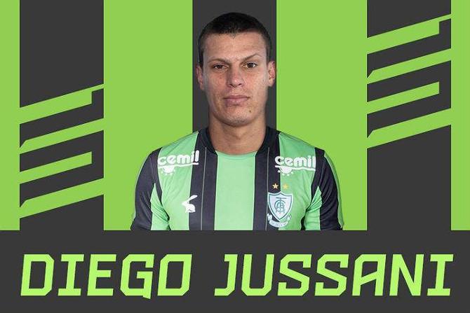 América anuncia contração de Diego Jussani, zagueiro campeão da Série B com o Fortaleza