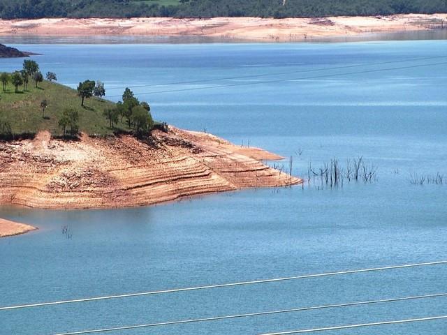 Lago de Furnas atinge menor nível nos últimos dois anos no Centro-Oeste
