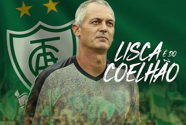 América anuncia Lisca Doido como novo técnico, no lugar de Felipe Conceição