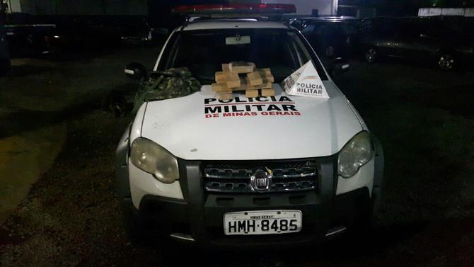 Polícia Militar de Itaúna faz grande apreensão de maconha
