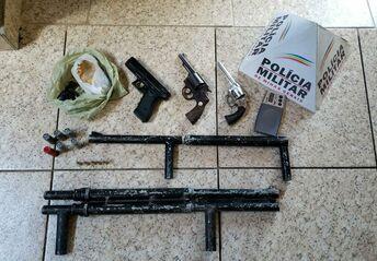 Operação Guardião obteve sucesso na apreensão de armas de fogo.