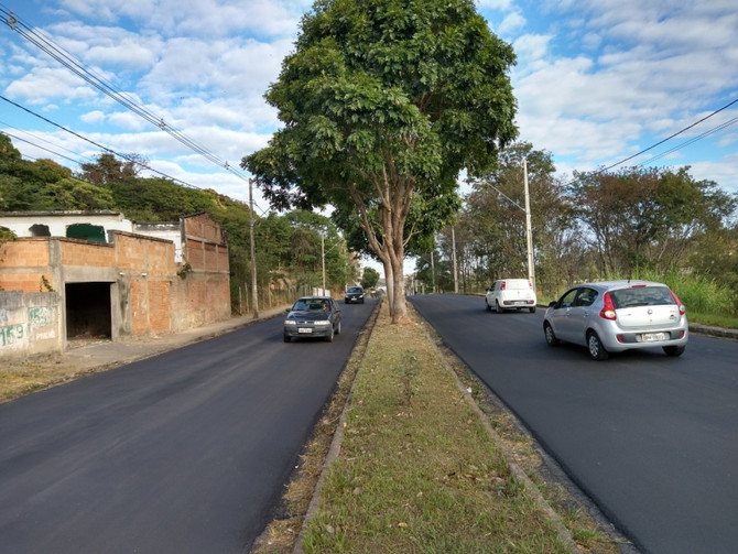 Prefeitura de Itaúna realizou pavimentação de 92 ruas no Município durante os últimos 4 anos