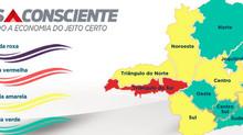 Quatro macrorregiões avançam à Onda Verde após queda de 9% na incidência da Covid em Minas