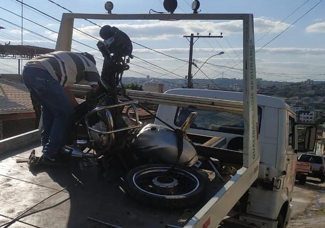 Dupla é detida com motos furtadas em pátio às margens da MG-050, em Divinópolis