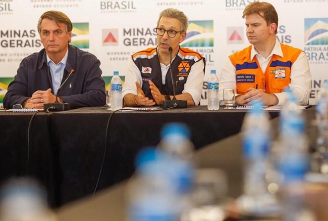 Bolsonaro anuncia R$ 892 milhões para Minas, RJ e ES fazerem obras em locais afetados pela chuva