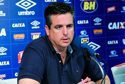 Vicintin analisa política no Cruzeiro e critica oposição: 'Comemoraram gol do Palmeiras'