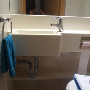 כיור קוריאן לאמבטיה לשרותי אורחים