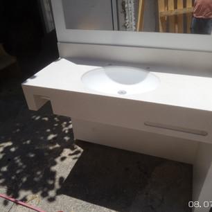 כיור קוריאן לאמבטיה אובלי
