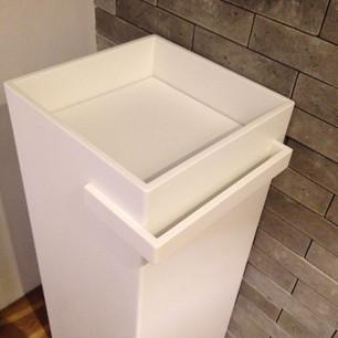 כיור קוריאן לאמבטיה ריבוע קטן