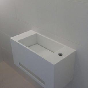 כיור קוריאן לאמבטיה מלבני קטן