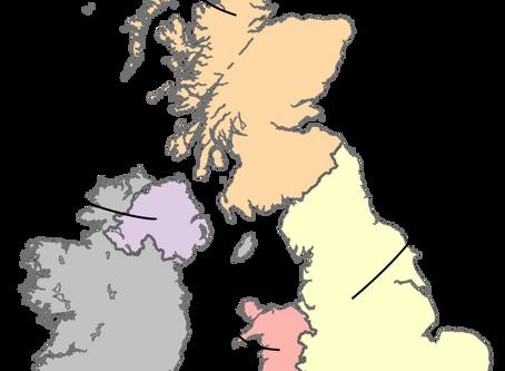 Anglicko - 2.časť: Anglicko, Veľká Británia a Spojené kráľovstvo
