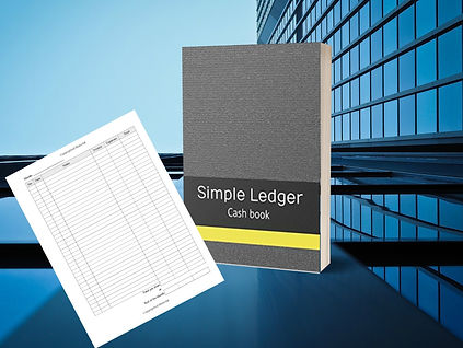 Simple Ledger Mary Roe Cash Book
