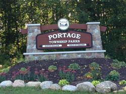 Portage Township Parks Sign