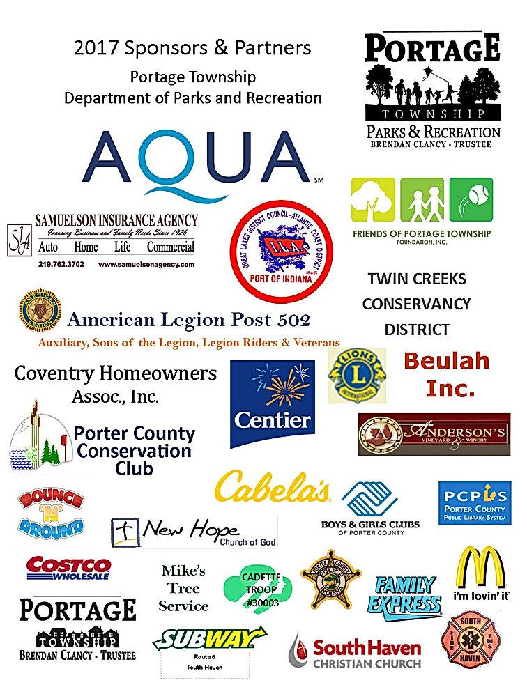 Portage Township Parks & Rec Sponsors
