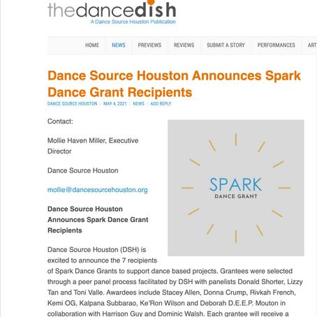 Dance Source Houston Announces Spark Dance Grant Recipients