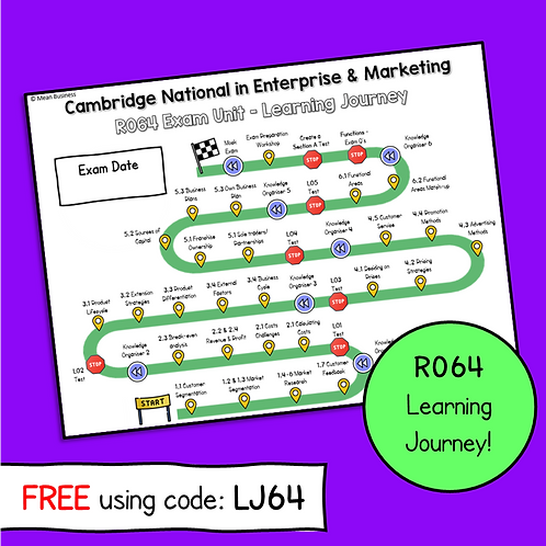 R064 Learning Journey (Not editable) (Free)