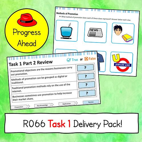 R066 Task 1 Teaching Resources (Progress Ahead)
