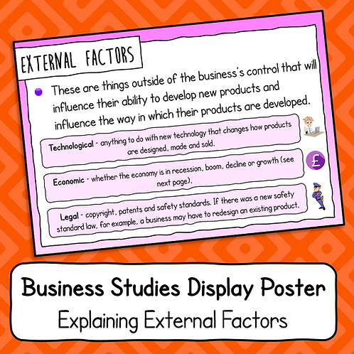 Explaining External Factors Poster / Handout