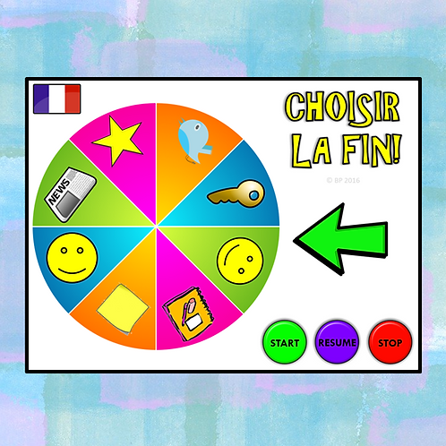 French (MFL) Plenary Wheel