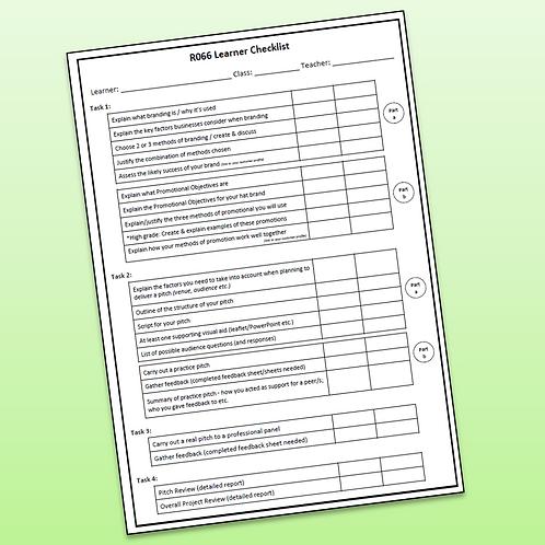 R066 Candidate Checklist (Free)