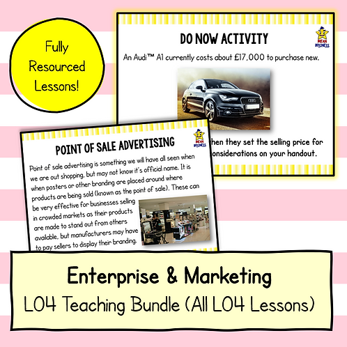 R064 LO4 Teaching Pack Bundle