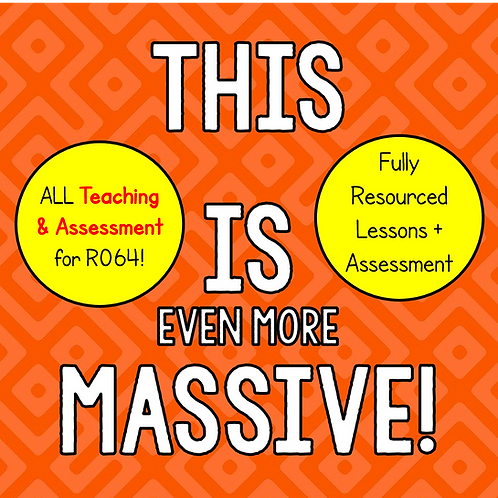 R064 Teaching + Assessment Bundle (All 6 LOs)