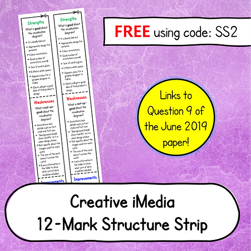R081- 12 Mark Structure Strip (June 2019 Paper) (Free)