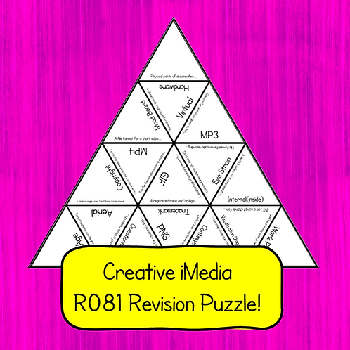Creative iMedia R081 Revision Puzzle