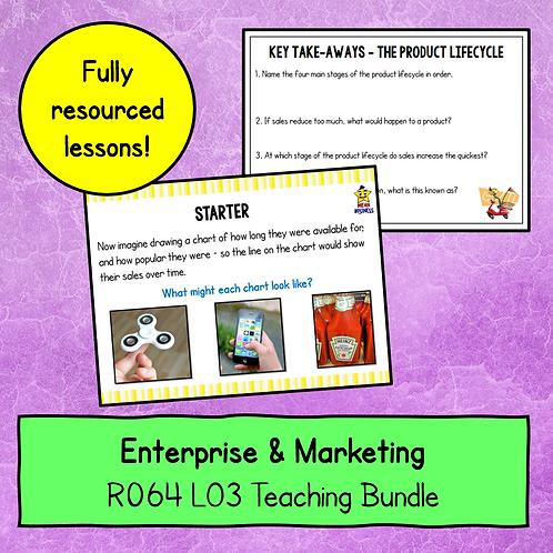 R064 LO3 Teaching Pack Bundle