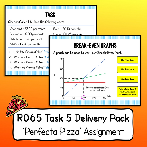 R065 Task 5 Delivery Pack (Perfecta Pizza)