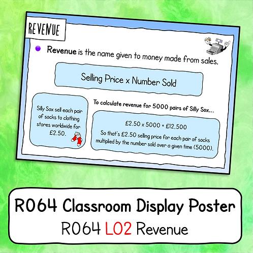 R064 LO2 - Explaining Revenue Poster / Handout