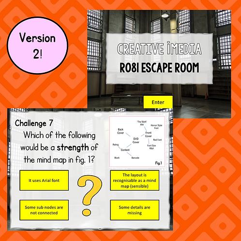 """R081 """"Escape Room"""" Version 2 - Creative iMedia"""