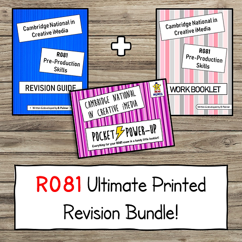 R081 Ultimate Printed Revision Bundle!